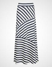 Lexington Clothing Joelle Jersey Skirt Langt Skjørt Hvit LEXINGTON CLOTHING