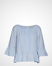 Odd Molly Wavelenghts Blouse Bluse Langermet Blå ODD MOLLY
