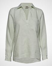 Twist & Tango Jaden Shirt Bluse Langermet Grønn TWIST & TANGO