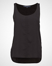 French Connection Clee Crepe Light Vest T-shirts & Tops Sleeveless Svart FRENCH CONNECTION