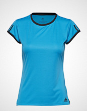 adidas Tennis Club 3 Stripes Tee W T-shirts & Tops Short-sleeved Blå ADIDAS TENNIS
