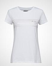 Barbour B.Intl Cortina Tee T-shirts & Tops Short-sleeved Hvit BARBOUR