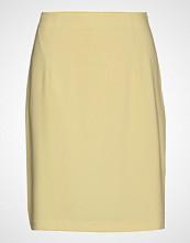 Filippa K High Waist Crepe Skirt Kort Skjørt Gul Filippa K