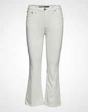 Please Jeans Shortcut Jog Jeans Sleng Hvit PLEASE JEANS