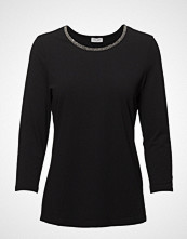 Gerry Weber T-Shirt 3/4-Sleeve R T-shirts & Tops Long-sleeved Svart GERRY WEBER