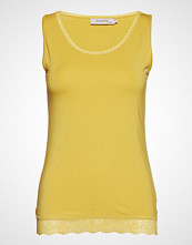 Noa Noa Top T-shirts & Tops Sleeveless Gul NOA NOA