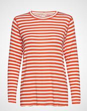 IBEN Victor Ls T-shirts & Tops Long-sleeved Rød IBEN