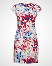 Taifun Dress Woven Fabric Knelang Kjole Multi/mønstret TAIFUN