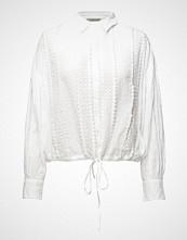 Hunkydory Ruby Swing Top Bluse Langermet Hvit HUNKYDORY