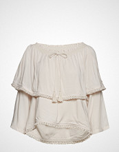 Odd Molly Band Of Frills Blouse Bluse Langermet Creme ODD MOLLY