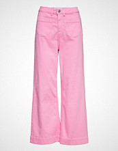 Tomorrow Mccartney Flare Jeans Colour Jeans Sleng Rosa TOMORROW