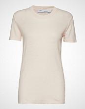 Iro Luciana T-shirts & Tops Short-sleeved Creme IRO