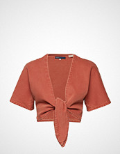 Levi's Made & Crafted Lmc La Playa Top Lmc Sunset Fa Strikkegenser Cardigan Oransje LEVI'S MADE & CRAFTED