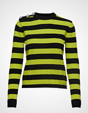 Ganni Cashmere Knit Pullover Strikket Genser Multi/mønstret GANNI