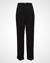 3.1 Phillip Lim Baggy Tailored Pant Bukser Med Rette Ben Svart 3.1 PHILLIP LIM