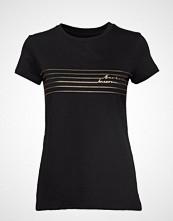 Barbour B.Intl Cortina Tee T-shirts & Tops Short-sleeved Svart BARBOUR