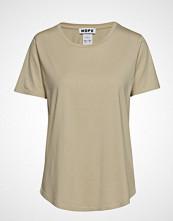 Hope Tee T-shirts & Tops Short-sleeved Beige HOPE