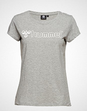 Hummel Hmllucy T-Shirt S/S T-shirts & Tops Short-sleeved Grå HUMMEL