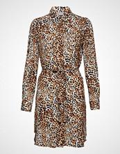 B.Young Gigilula Shirt Dress - Knelang Kjole Brun B.YOUNG