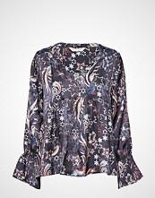 Odd Molly Neon Garden Blouse Bluse Langermet Blå ODD MOLLY
