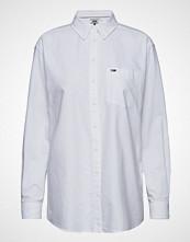 Tommy Jeans Tjw Tommy Classics S Langermet Skjorte Hvit TOMMY JEANS