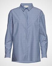 Denim Hunter 03 The Shirt Langermet Skjorte Blå DENIM HUNTER
