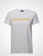 2nd Day 2nd Chance T-shirts & Tops Short-sleeved Hvit 2NDDAY