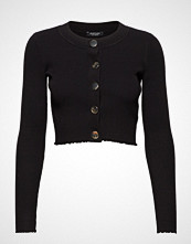Marciano by GUESS Kyra Sweater Rib Cardign Strikkegenser Cardigan Svart MARCIANO BY GUESS