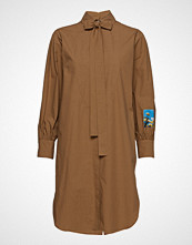 MSGM Dress Knelang Kjole Brun MSGM