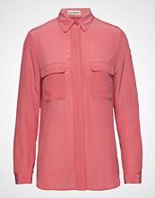Custommade Athalie Langermet Skjorte Rosa CUSTOMMADE
