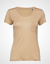 Day Birger et Mikkelsen Day Salvia T-shirts & Tops Short-sleeved Beige DAY BIRGER ET MIKKELSEN