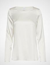 Max Mara Leisure Moldava T-shirts & Tops Long-sleeved Hvit MAX MARA LEISURE