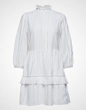 Notes du Nord Lindsey Short Dress Kort Kjole Hvit NOTES DU NORD