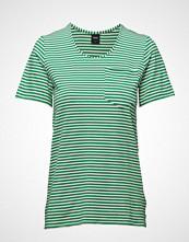 Nanso Ladies T-Shirt, Liitu T-shirts & Tops Short-sleeved Grønn NANSO