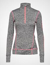 Superdry Sport Performance Reflective Half Zip T-shirts & Tops Long-sleeved Grå SUPERDRY SPORT