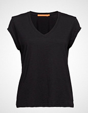 Coster Copenhagen Basic Tee W. V-Neck T-shirts & Tops Short-sleeved Svart COSTER COPENHAGEN