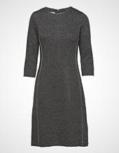 Gerry Weber Dress Knitted Fabric Knelang Kjole Grå GERRY WEBER