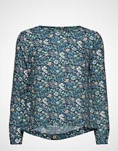 Morris Lady Flora Liberty Meadow Blouse Bluse Langermet Blå MORRIS LADY
