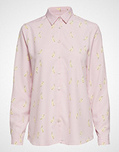 Whyred Karolina Pear Print Langermet Skjorte Rosa WHYRED