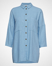 Vila Vilinnan 3/4 Long Shirt Langermet Skjorte Blå VILA