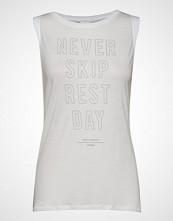 Reebok Performance Ts Graphic Muscle Tank T-shirts & Tops Sleeveless Hvit REEBOK PERFORMANCE