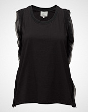 3.1 Phillip Lim Tank W Topstitch Ribbon T-shirts & Tops Sleeveless Svart 3.1 PHILLIP LIM