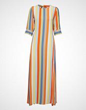 IBEN Phoenix Dress Stripe Maxikjole Festkjole Multi/mønstret IBEN