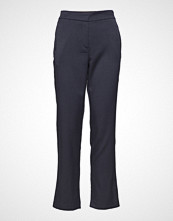 Soft Rebels Elena Pant W/ Stripe Bukser Med Rette Ben Blå SOFT REBELS