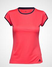 adidas Tennis Club 3 Stripes Tee W T-shirts & Tops Short-sleeved Rosa ADIDAS TENNIS