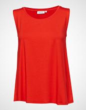 Masai Elisa Basic T-shirts & Tops Sleeveless Rød MASAI