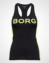 Björn Borg Tank L.A Stripe 1p T-shirts & Tops Sleeveless Svart BJÖRN BORG
