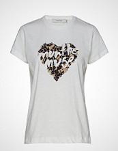 Munthe Diana T-shirts & Tops Short-sleeved Hvit MUNTHE