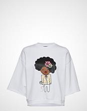 Stella Nova Nora Diana T-shirts & Tops Short-sleeved Hvit STELLA NOVA
