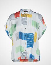 Esprit Collection Blouses Woven Bluse Kortermet Hvit ESPRIT COLLECTION